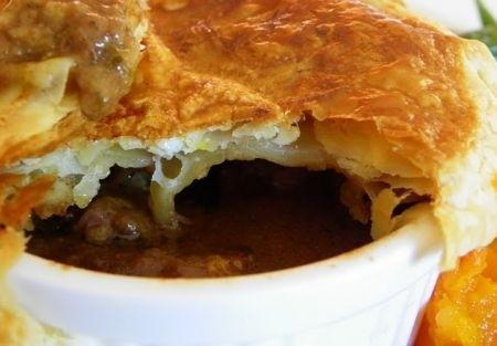 Ricetta steak and kidney pie