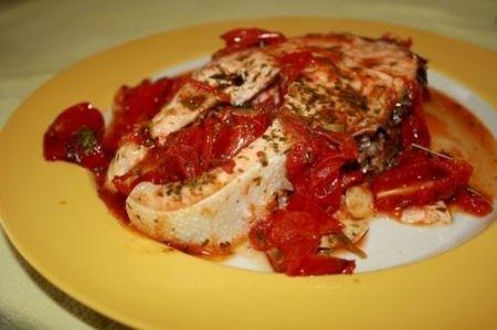 Ricetta salmone al pomodoro