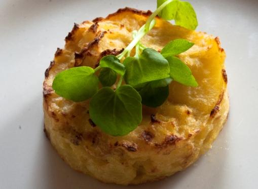 Flan di patate