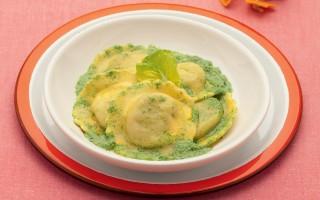 Ricetta ravioli di verdure con crema di lattuga