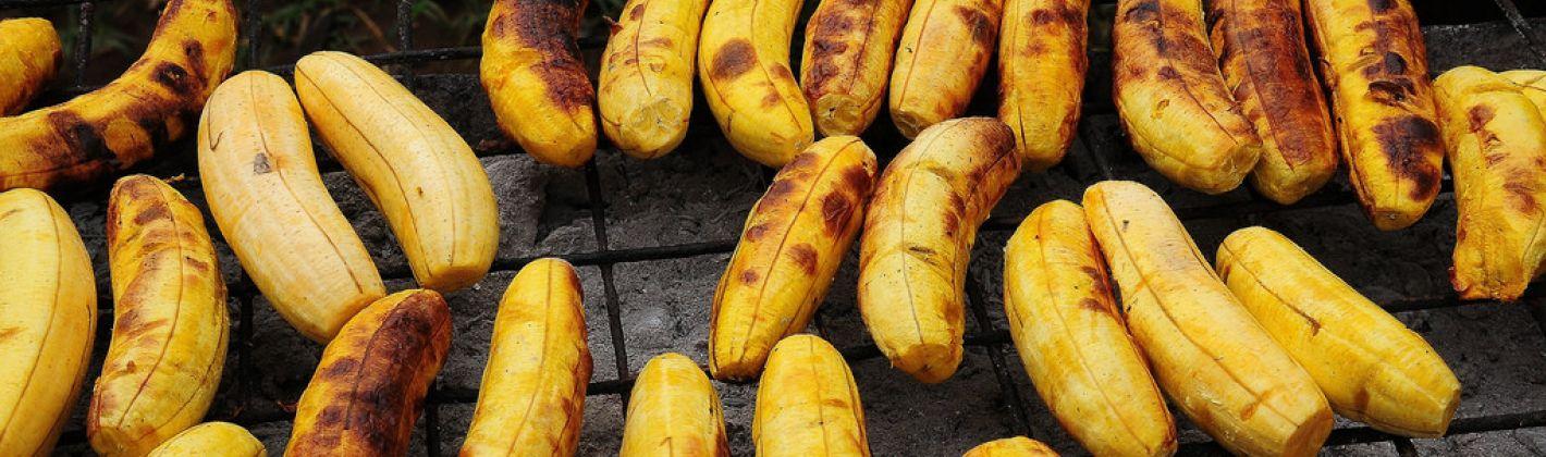 Ricetta banane barbecue