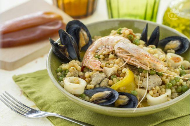 Ricetta paella algherese