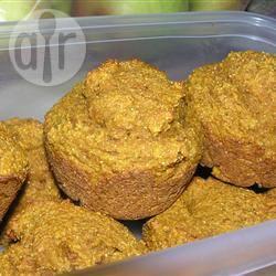 Muffin alla zucca e farina di mais
