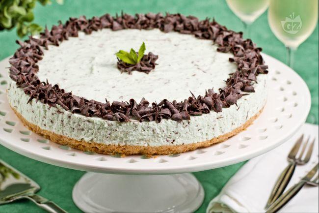 Ricetta cheesecake menta e cioccolato