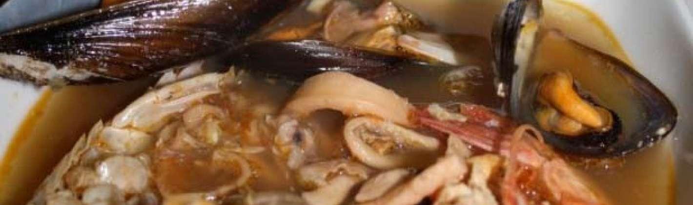 Ricetta zuppa di pesce di capodanno