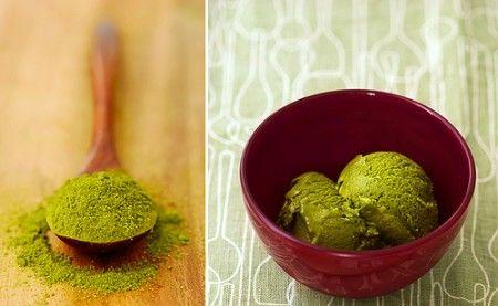 Ricetta gelato al tè verde