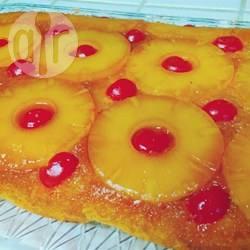Torta rovesciata all'ananas facile