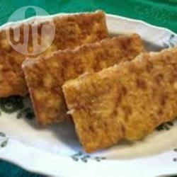 Frittelle di crackers e patate