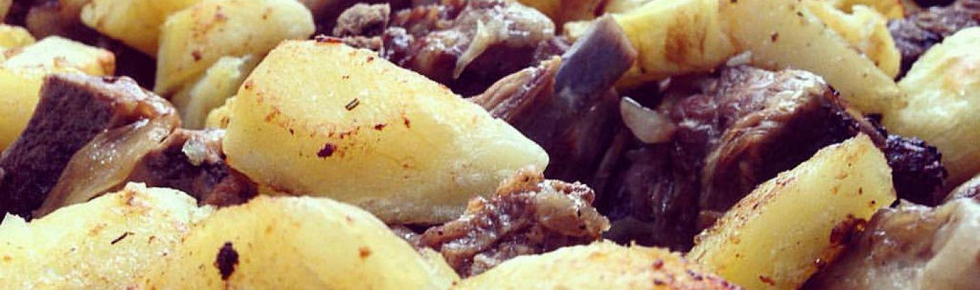 Ricetta spezzatino di agnello con patate