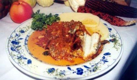 Ricetta anguilla in salsa con polenta