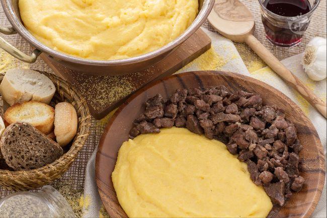Ricetta polenta e bruscitt