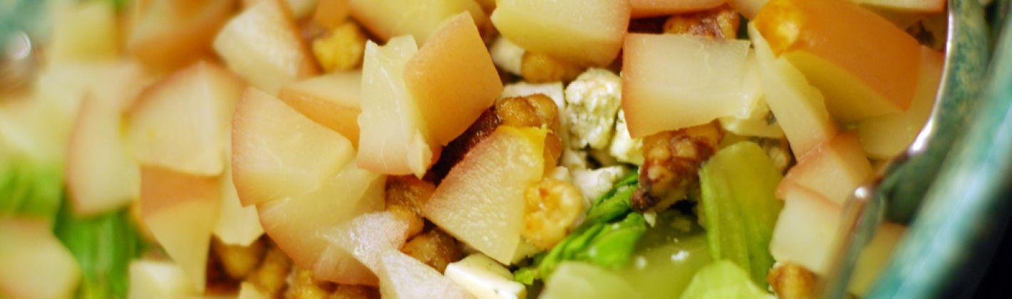 Ricetta insalata di noci e pere
