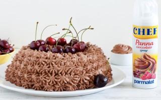 Ricetta angel cake al cocco e ciliegie