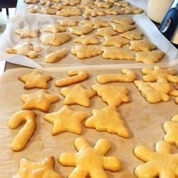 Biscotti senza glutine con crema dolce al formaggio
