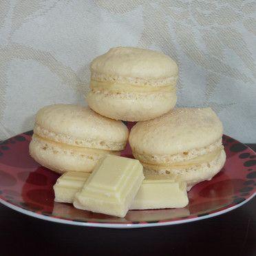 Ricetta macarons al cioccolato bianco