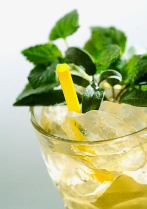 Ricetta tè verde con vodka