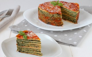 Ricetta torta di crepes salate