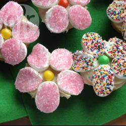 Fiorellini di cupcake