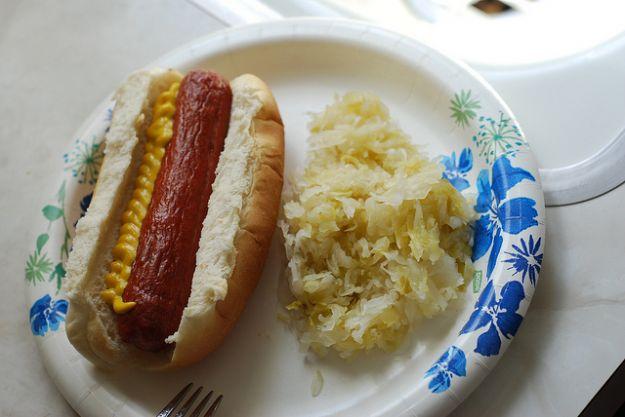 Ricetta hot dog con crauti