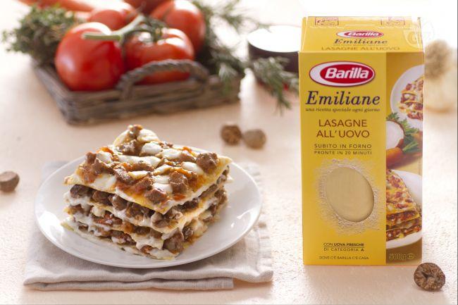 Ricetta lasagne con ragù di agnello