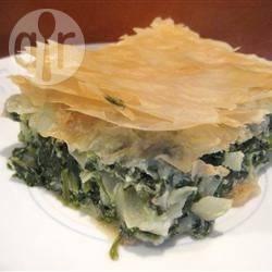 Spanakopita (torta greca ricotta e spinaci)