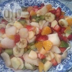 Macedonia di frutta invernale al maraschino