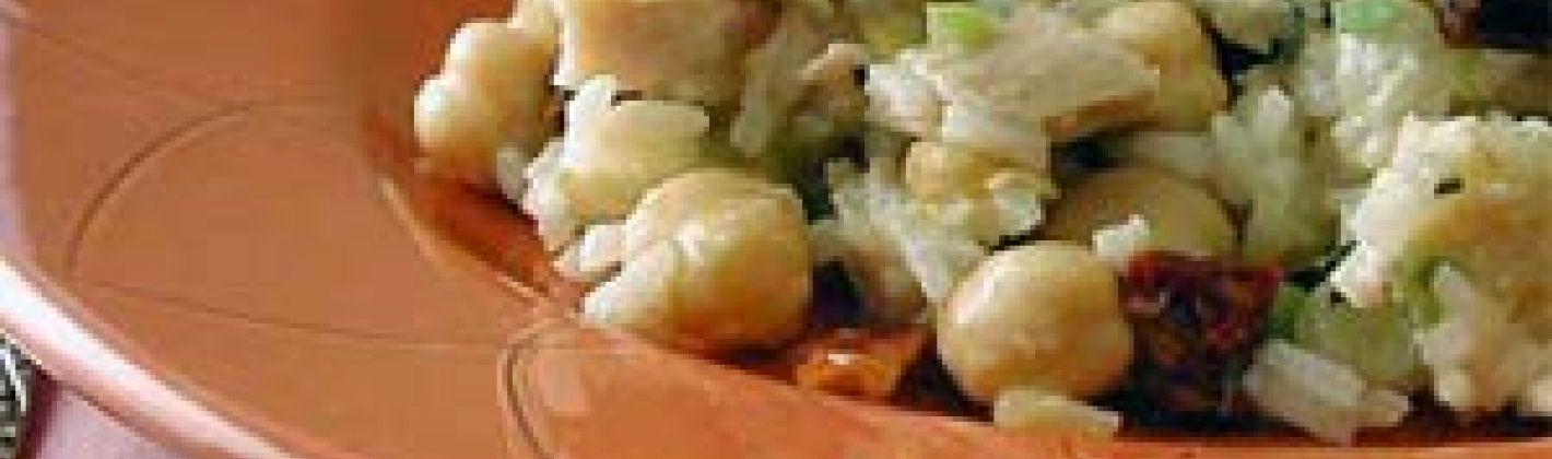 Ricetta insalata di riso con pollo e sedano