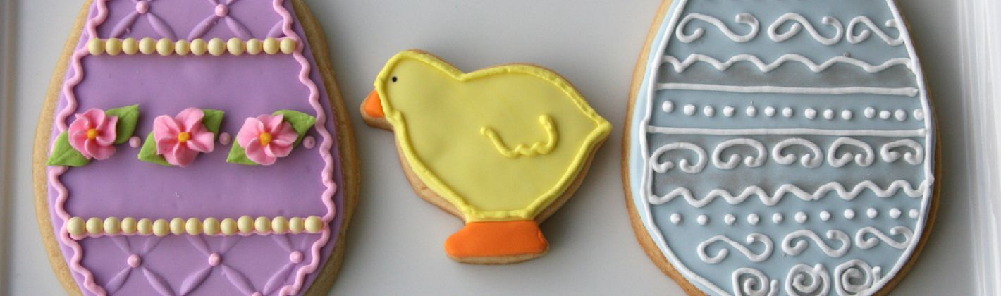 Ricetta biscotti a forma di uova e pulcini
