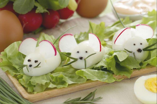 Ricetta topolini di uova