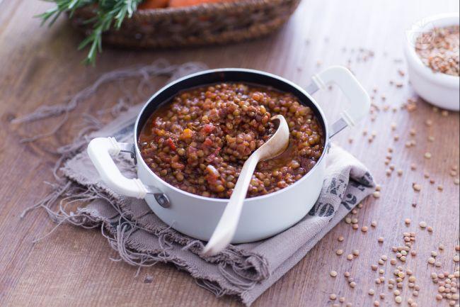 Ricetta ragù di lenticchie