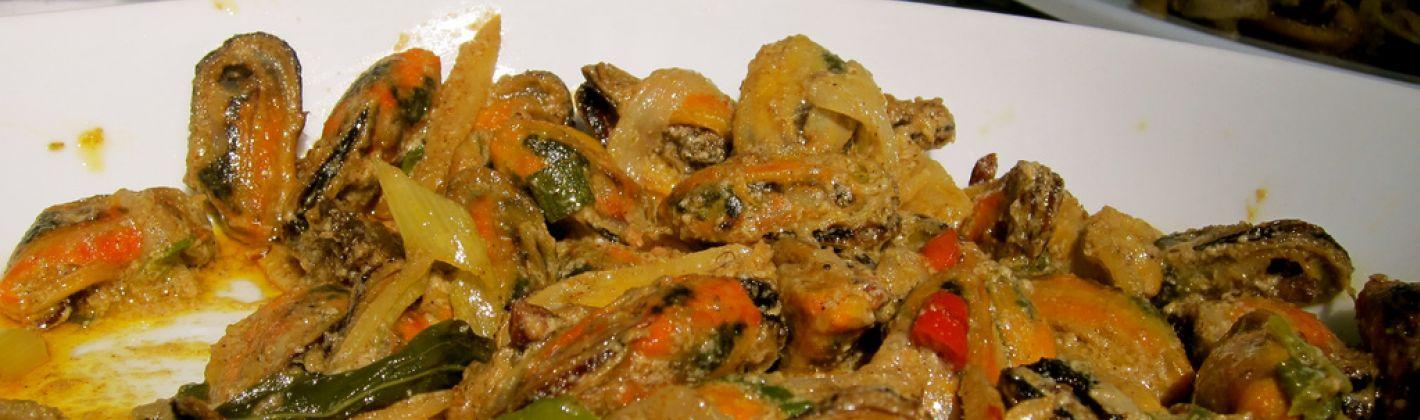 Ricetta cozze al curry