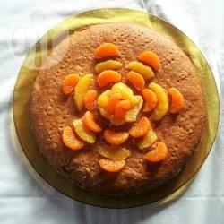 Torta morbida all'arancia