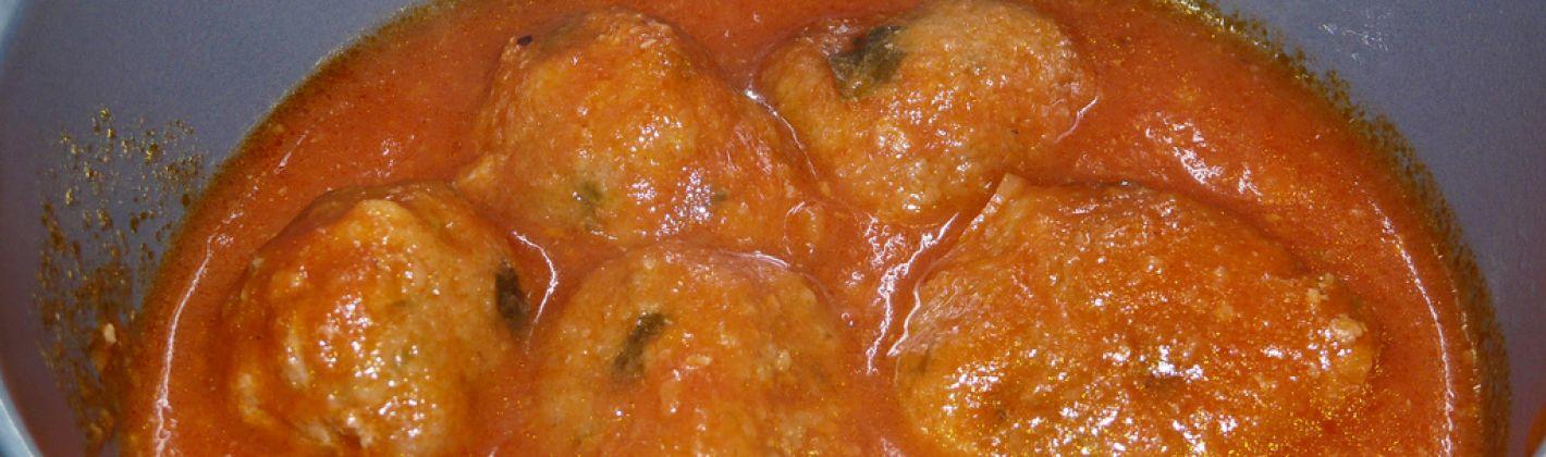 Ricetta polpette di carne in umido