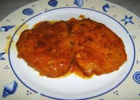 Scaloppine di pollo in salsa allo speck