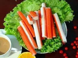 Ricetta surimi in insalata con ceci e rucola