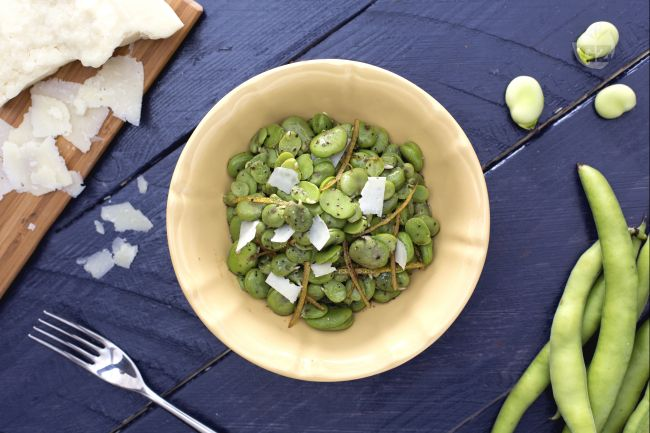Ricetta insalata di fave