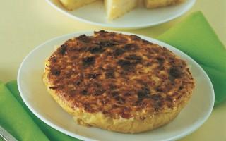 Ricetta torta di patate gialle al taleggio e parmigiano