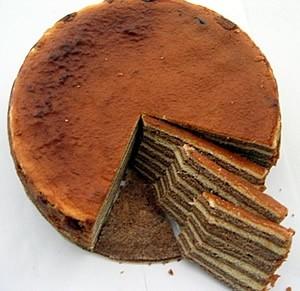 Ricetta torta indonesiana a strati (o spekkoek o lapis legit ...