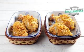 Ricetta pollo al forno ai corn flakes
