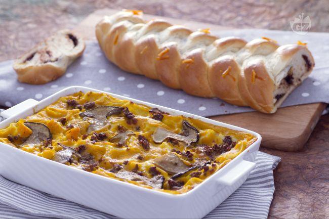 Ricetta lasagna autunnale e treccia alla nutella