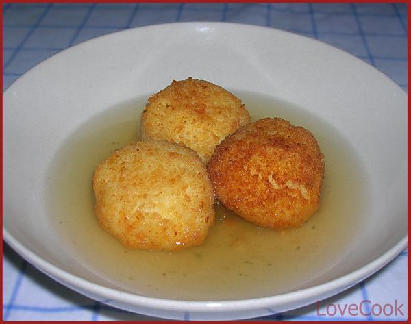 Crocchette di riso in brodo (abruzzo)