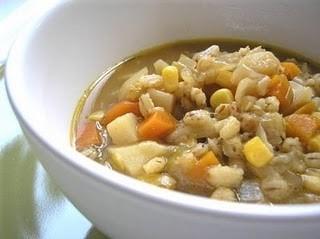 Ricetta minestrone d'orzo alla trentina