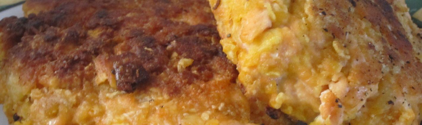 Ricetta tortino di salmone con patate e carciofi