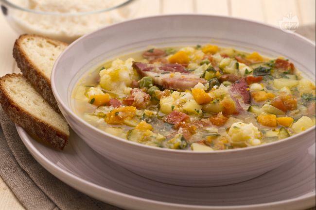 Ricetta minestrone di verdure