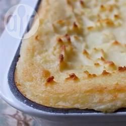 Purè di patate al forno con mascarpone