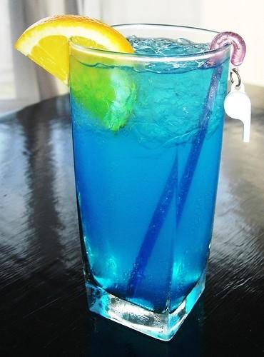 Ricetta freschezza blu al limone