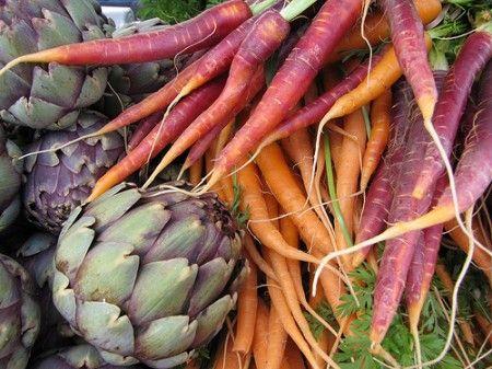 Ricetta coppe di carciofi e carote