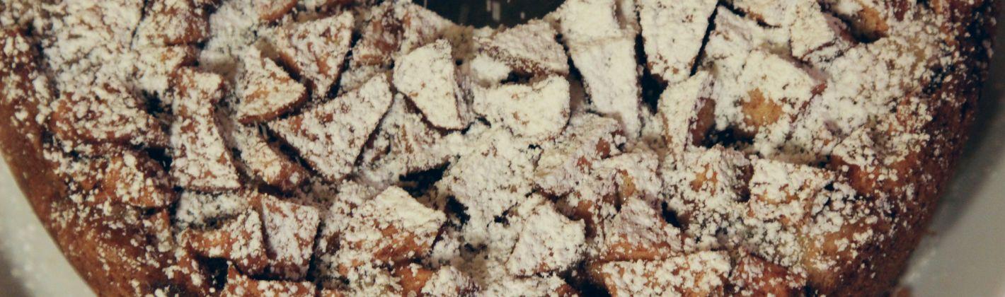 Ricetta torta di mele al cioccolato
