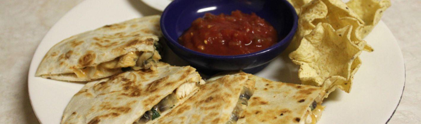 Ricetta quesadillas