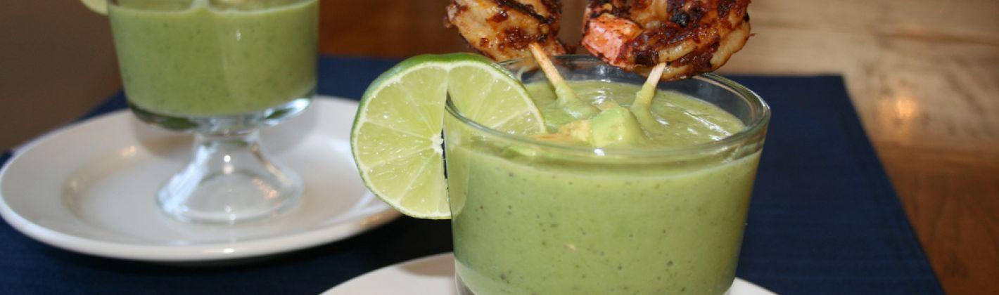 Ricetta cocktail di gamberi con avocado e yogurt
